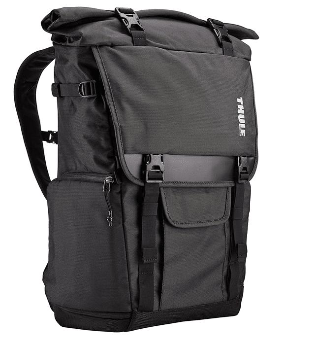 una foto de la mochila Thule Covert DSLR Rolltop Daypack